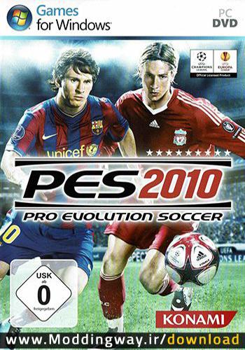 دانلود بازی PES 2010