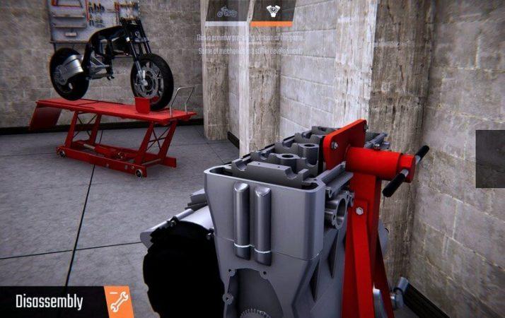 دانلود بازی Biker Garage Mechanic Simulator