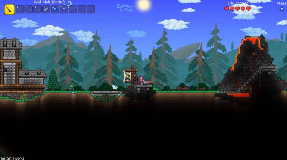 دانلود بازی Terraria Journey's End