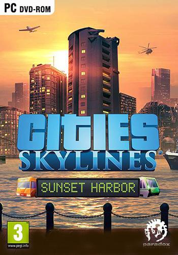 دانلود بازی Cities Skylines Sunset Harbor