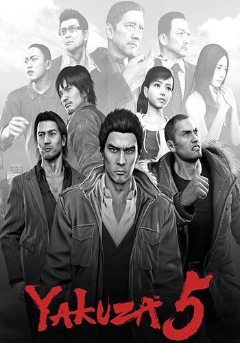 دانلود بازی Yakuza 5 Remastered