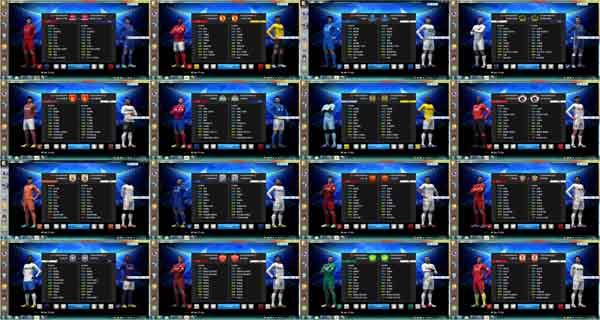 دانلود کیت پک کامل سوپر لیگ چین برای PES 2013