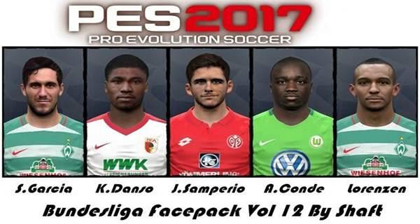 PES 2017 Bundesliga Facepack moddibgway.ir  - دانلود مستقیم فیس پک بوندسلیگا PES 2017 Bundeslaga FacePack Vol 12