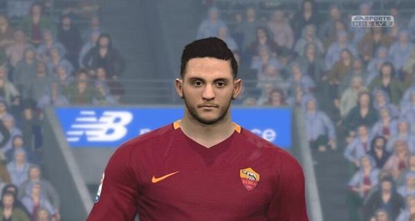 دانلود فیس جدید PES 2017 Konstantinos Manolas Face