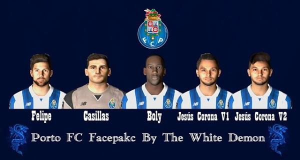 دانلود فیسپک PES 2017 F.C. Porto Facepack