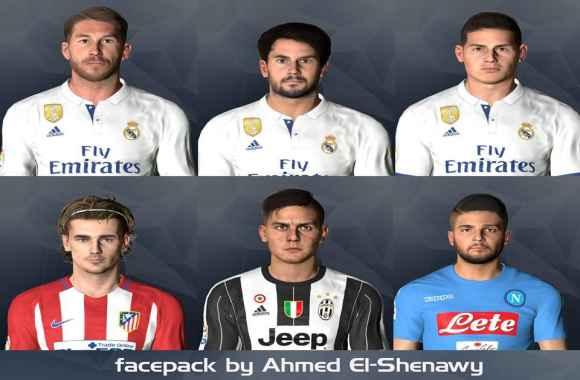 PES2017 April Facespack by Ahmed El Shenawy - فیس پک جدید April برای Pes 2017