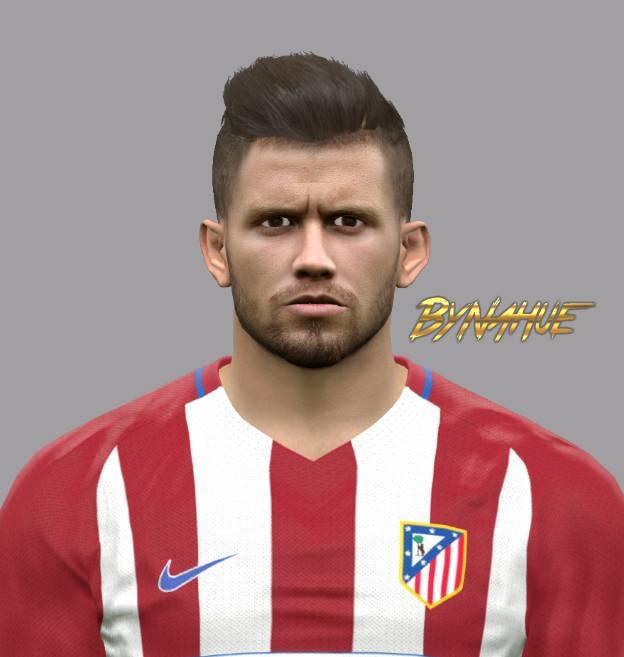 PES2017 Caio Henrique Face byNahue - فیس جدید Caio Henrique Oliveira Silva (بازیکن تیم اتلتیکو مادرید) برای Pes 2017