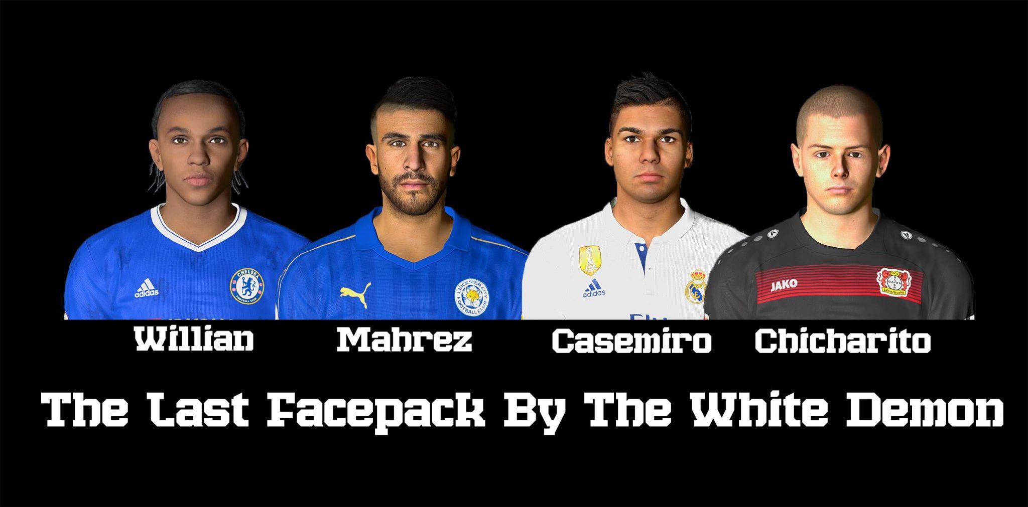 فیس پک جدید The Last Face Pack برای Pes 2017