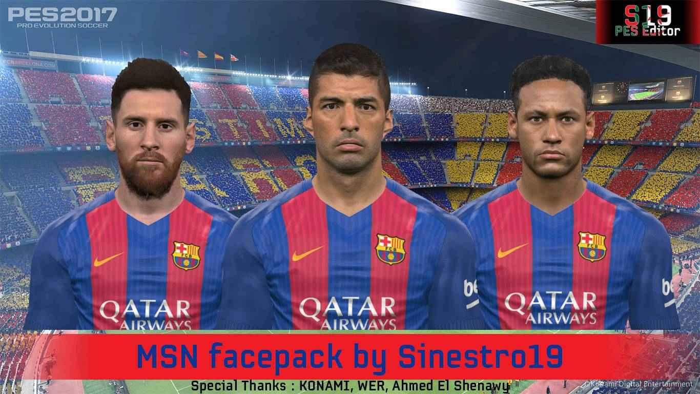 PES2017 MSN Facespack by S19 PESEditor Moddingway.ir  - فیس پک زیبا و با کیفیت MSN برای Pes 2017