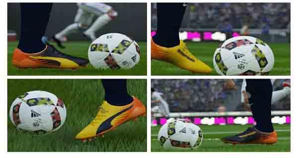 دانلود کفش جدید Puma evoSpeed SL-2 ULTRA Yelow برای FIFA16