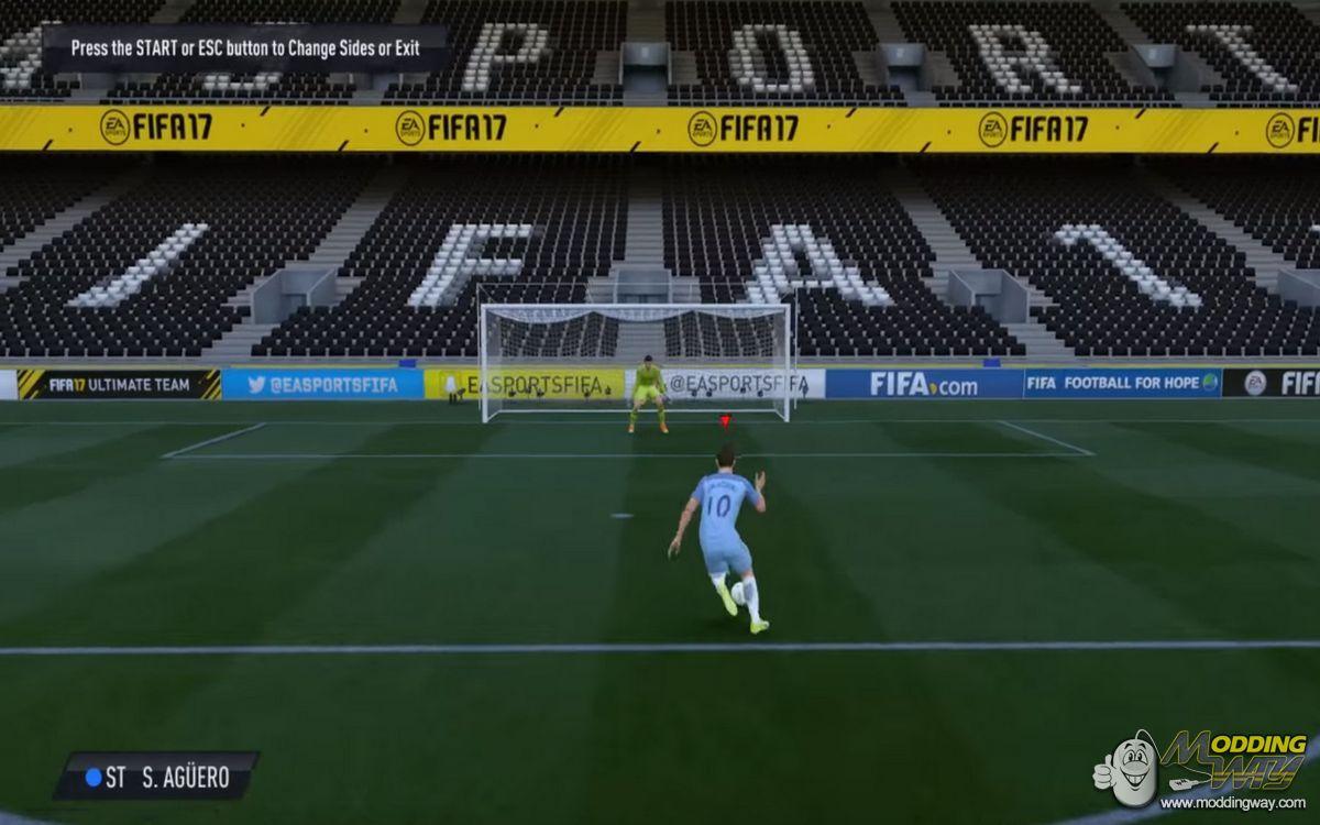 نرم افزار اضافه کردن مود تمرین به اول بازی در FIFA 17 DEMO