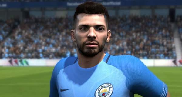 دانلود فیس سرجیو آگوئرو Aguero برای FIFA14