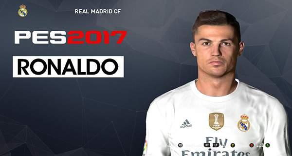 دانلود فیس جدید Ronaldo برای PES 2017
