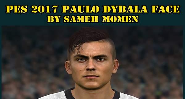 دانلود فیس فوق العاده پائولو دیبالا Paolo Dybala برای PES 2017