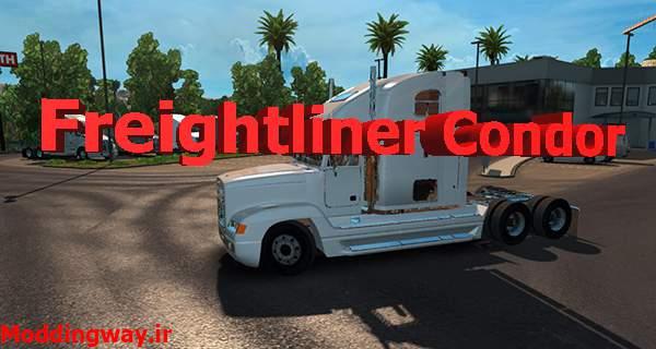 دانلود کامیون Freightliner Condor برای امریکن تراک