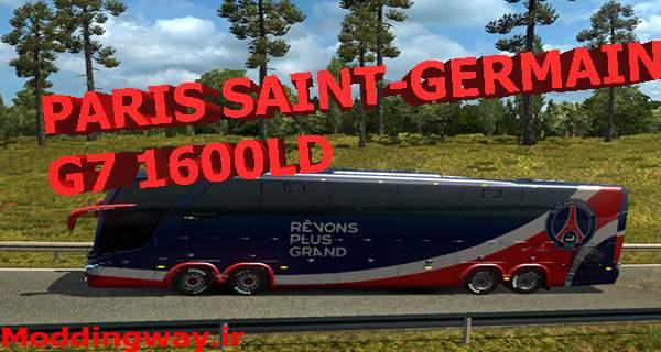 دانلود اتوبوس Paris saint – Germain G7 1600LD برای یوروتراک 2