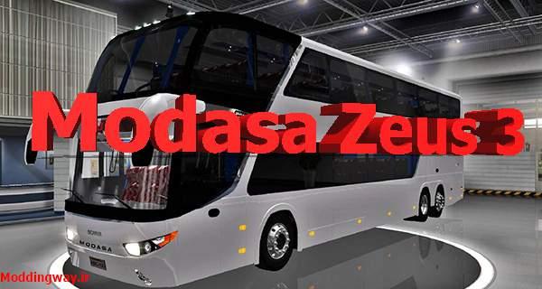 دانلود اتوبوس Modasa Zeus 3 برای امریکن تراک