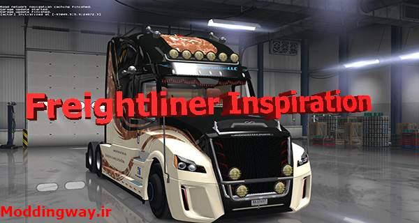 دانلود کامیون Freightliner Inspiration برای امریکن تراک