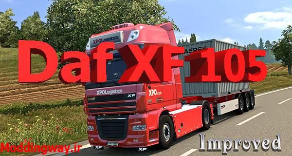 promo ModLandNet 122 - دانلود کامیون DAF XF 105 برای یورو تراک 2
