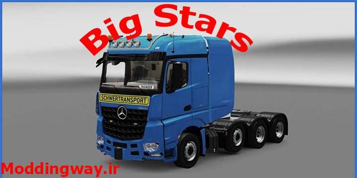 Big Stars 2 ModLandNet 21 - دانلود کامیون Big Stars برای یوروتراک 2