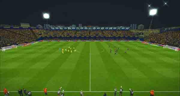 دانلود استادیوم De La Cerámica برای PES 2017 (استادیوم تیم ویارئال)