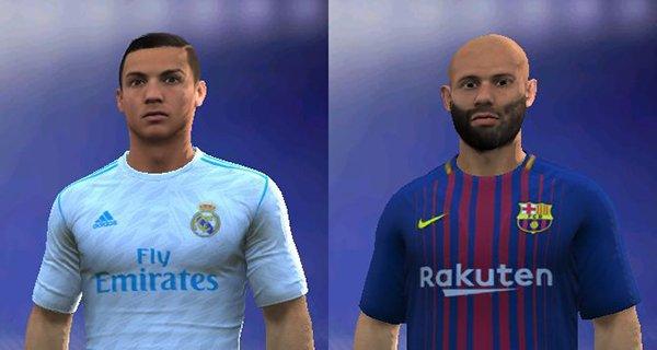 دانلود فیس جدید رونالدو و ماسکرانو برای FIFA14