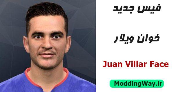 دانلود فیس خوان ویلار Juan Villar Face برای PES2017