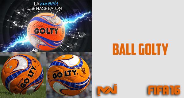 توپ نارنجی با طرح عالی برای FIFA16