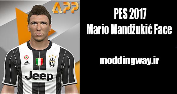 دانلود فیس ماندزوکیچ Mandžukić برای PES2017