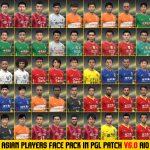 فیس بازیکنان اسیایی PES 150x150 - دانلود پچ لیگ برتر ایران PGL V6.0 AIO برای PES2017