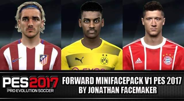 دانلود فیس پک Forward Mini facePack V1 برای PES2017