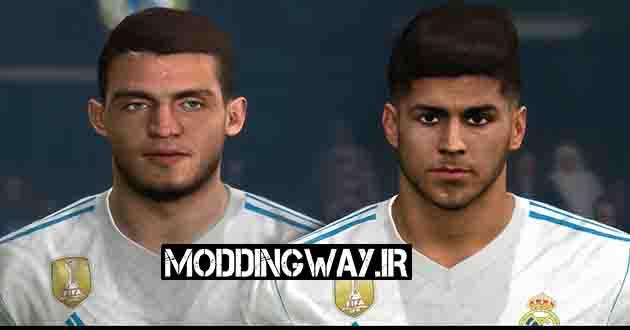 Moddingway.ir Pictures 13 2 - دانلود فیس اسنسیو Asensio و کواچیچ Kovacic برای PES2017