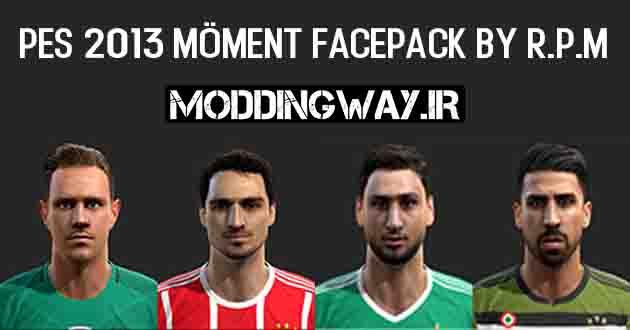 Moddingway.ir Pictures 16 - دانلود فیس پک Moment برای PES2013