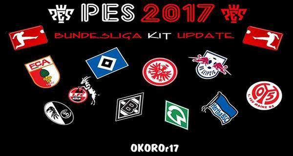 کیت پک بوندسلیگا فصل 2017/18 بازی PES2017