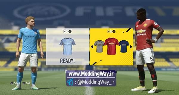 big 5 1 - کیت پک کامل لیگ انگلیس برای FIFA17