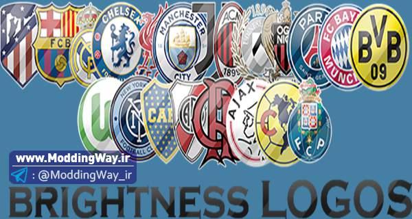 دانلود لوگو پک Brightness Logos برای PES2018
