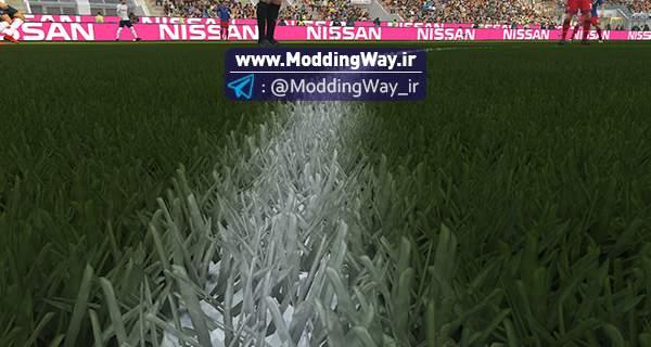 سه بعدی برای PES2018 - دانلود چمن 3D Grass برای PES2018 توسط DrDoooMuk