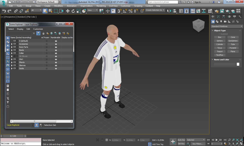 PES 2018 3D KIT STUDIO BY SIMONETOS THE GREEK www.moddingway.ir  - دانلود افزونه کیت استودیو 3D برای PES2018 - مخصوص کیت میکر ها