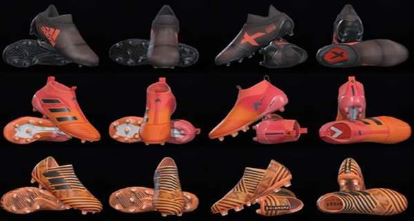 PES 2018 Adidas Pyro Storm Pack Boots - دانلود پک کفش Adidas Pyro Storm برای PES2018