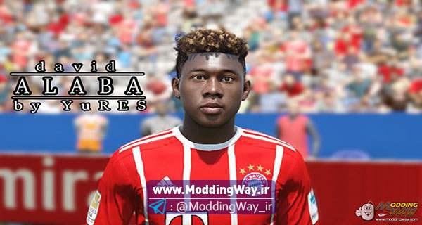 alaba - دانلود فیس جدید آلابا برای FIFA16