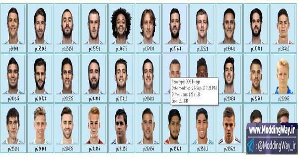 big 1 1 - دانلود مینی فیس جدید بازیکنان Real Madrid برای Fifa14