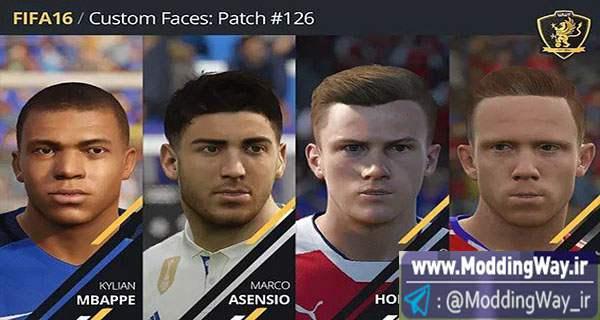 big 6 - دانلود فیس پک جدید برای FIFA16