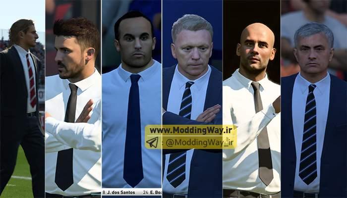 دانلود مود سرمرمربی برای کریر FIFA18 ورژن 3