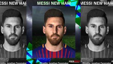 PES2017 L. Messi Updated New Hair by Messipradeep 390x220 - دانلود آپدیت فیس لیونل مسی برای PES2017