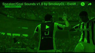 Speaker Sound Mod by Smokey 300x179 copy 390x220 - دانلود Speaker/Player Goal Sounds برای PES2018 ورژن 1
