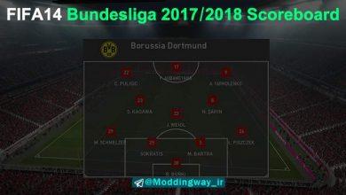 بوندسلیگا برای FIFA14 390x220 - دانلود اسکوربورد بوندسلیگا فصل 2017/2018 برای FIFA14