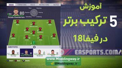 ترکیب چیدن در FIFA18 390x220 - آموزش چیدن 5 تا از بهترین ترکیب در FIFA18