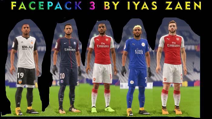 فیس پک برای FIFA18 - دانلود فیس پک فیفا18 ورژن 3 توسط iYas
