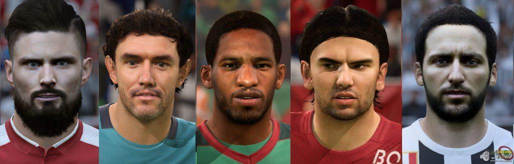 جدید برای فیفا18 1024x328 - فیس پک Face pack V1 برای FIFA18 توسط Vladmir_Ukr