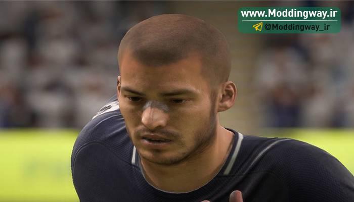 فیس و موی جدید داوید سیلوا برای FIFA18 توسط darthusi